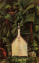 Indian Church 1929 - Emily Carr reproduction oil painting
