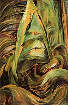Forest Interior 1932 - Emily Carr reproduction oil painting