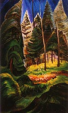 A Rushing Sea of Undergrowth 1935 - Emily Carr reproduction oil painting