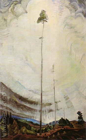 Scorned as Timber Beloved of The Sky 1935 - Emily Carr reproduction oil painting