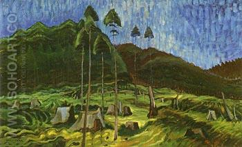 Odds and Ends 1939 - Emily Carr reproduction oil painting