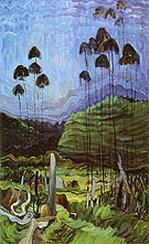 Trees in The Sky 1939 - Emily Carr reproduction oil painting