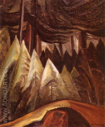 Forest Light 1931 - Emily Carr reproduction oil painting