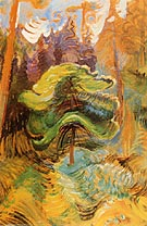 Untitled 1936 - Emily Carr