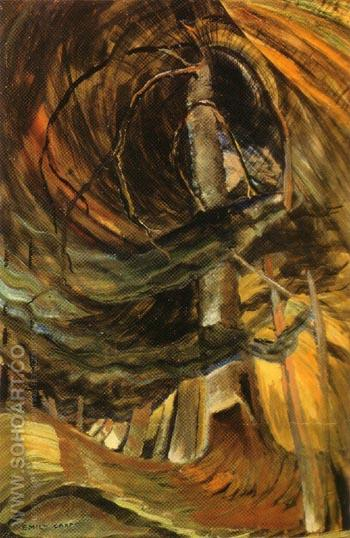 Tree 1932 - Emily Carr reproduction oil painting