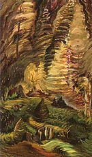 Rebirth original title Something Unnamed 1937 - Emily Carr reproduction oil painting