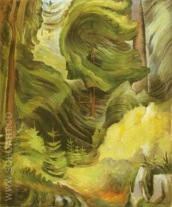 Swirl 1937 - Emily Carr reproduction oil painting