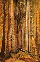 Forest 1939 - Emily Carr reproduction oil painting
