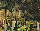 Swaying 1935 - Emily Carr reproduction oil painting