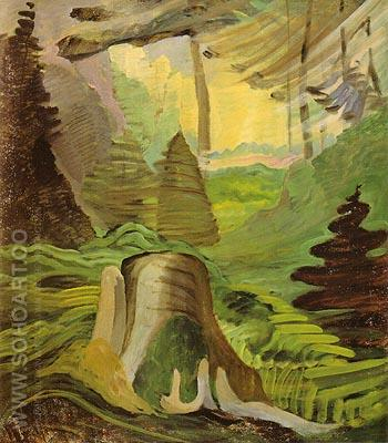 Untitled 1937 - Emily Carr reproduction oil painting