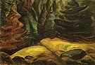Yellow Moss 1939 - Emily Carr reproduction oil painting