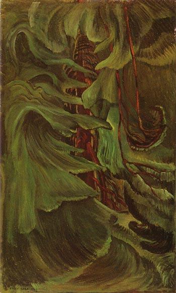Cedar 1942 - Emily Carr reproduction oil painting
