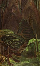 Quiet 1942 - Emily Carr reproduction oil painting
