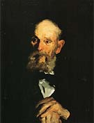 Portrait of My Father 1906 - George Bellows reproduction oil painting