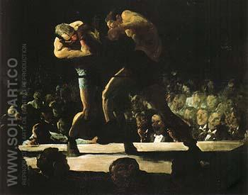 Club Night 1907 - George Bellows reproduction oil painting