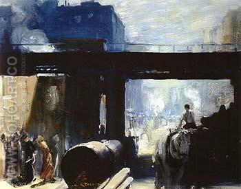 Noon 1908 - George Bellows reproduction oil painting