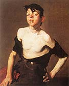 Paddy Flannigan 1908 - George Bellows reproduction oil painting