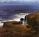 Shore House 1911 - George Bellows reproduction oil painting