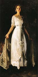 Mrs Albert M Miller 1913 - George Bellows reproduction oil painting