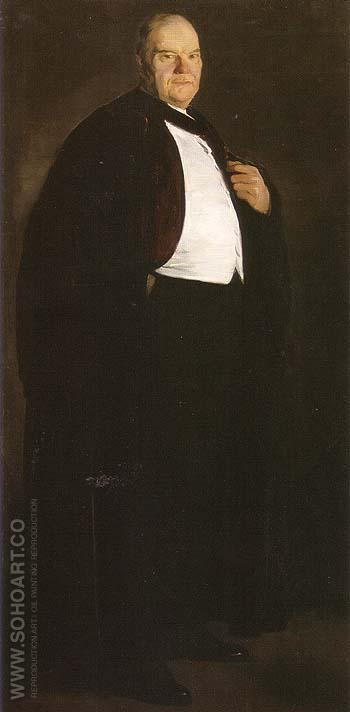William Oxley Thompson 1913 - George Bellows reproduction oil painting