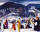 Love of Winter 1914 - George Bellows reproduction oil painting