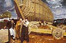 Builders of Ships 1916 - George Bellows reproduction oil painting