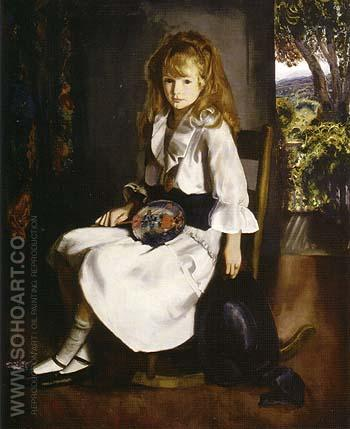 Anne in White 1920 - George Bellows reproduction oil painting