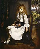 Anne in White 1920 - George Bellows