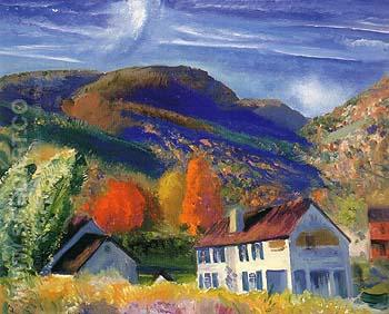 My House Woodstock 1924 - George Bellows reproduction oil painting
