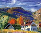 My House Woodstock 1924 - George Bellows