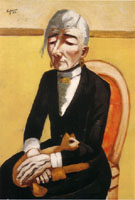 The Old Actress 1926 - Max Beckman