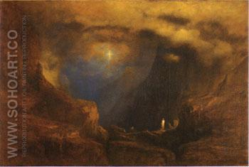 The Valley of the Shadow of Death 1867 - George Inness reproduction oil painting