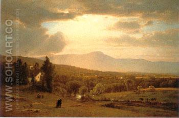 Catskill Mountains - George Inness reproduction oil painting