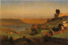 Castel Gandolfo 1876 - George Inness reproduction oil painting