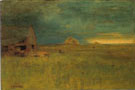 The Lone Farm Nantucket 1892 - George Inness reproduction oil painting