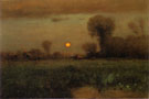 Harvest Moon 1891 - George Inness reproduction oil painting