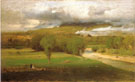 Saco Ford Conway Meadows 1876 - George Inness reproduction oil painting