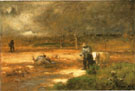 Homeward 1881 - George Inness reproduction oil painting