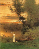 Shades of Evening 1877 - George Inness
