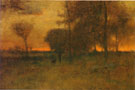 Sunset Glow 1883 - George Inness reproduction oil painting