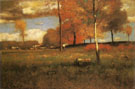 Near The Village October 1892 - George Inness reproduction oil painting