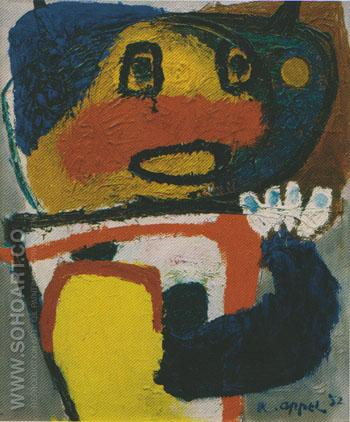 Child 1952 - Karel Appel reproduction oil painting