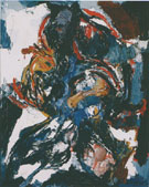 Untitled 1957 - Karel Appel reproduction oil painting