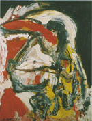 Bird 1957 - Karel Appel reproduction oil painting