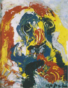 Face 1958 - Karel Appel reproduction oil painting