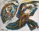 Mild Nude with Lattesed Eyes 1961 - Karel Appel