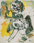 Nude Series Nude 1963 - Karel Appel