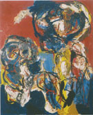 Mother and Child 1964 - Karel Appel reproduction oil painting