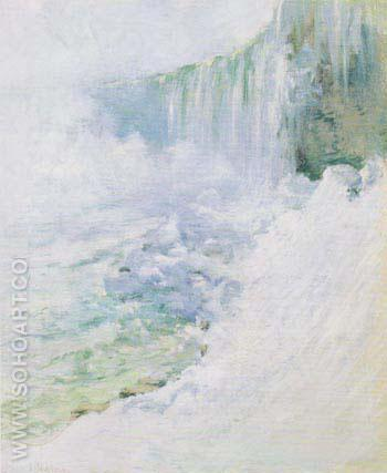 Niagara in Winter 1893 - John Henry Twachtman reproduction oil painting