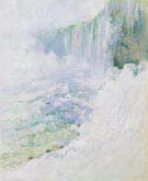 Niagara in Winter 1893 - John Henry Twachtman